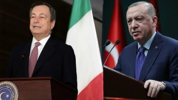 أردوغان ورئيس الوزراء الإيطالي- أرشيفية