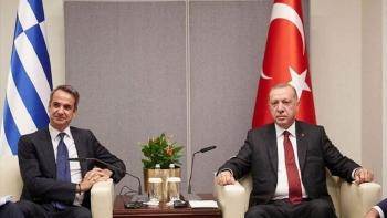 رئيس الوزراء اليوناني وأردوغان- أرشيفية