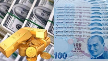 الدولار والذهب والليرة التركية