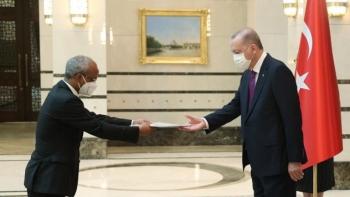 اعتماد السفير الإثيوبي في تركيا
