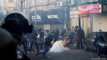 احتجاجات في القدس الشرقية المحتلة