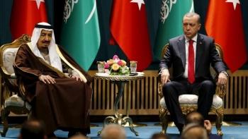 ملك السعودية ورئيس تركيا