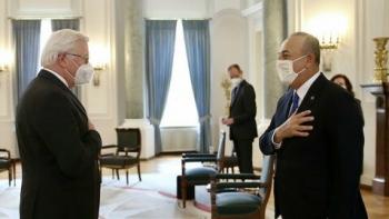 جايش أوغلو والرئيس الألماني