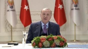 صورة لأردوغان من البث المباشر