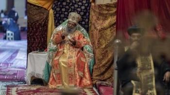 رئيس الكنيسة الأرثوذكسية الإثيوبية البطريرك أبونا ماتياس
