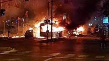 الاشتباكات في مدينة اللد