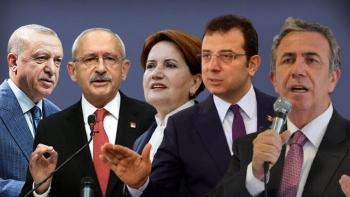 رموز المعارضة التركية وأردوغان