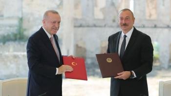 اتفاقية شوشة بين تركيا وأذربيجان