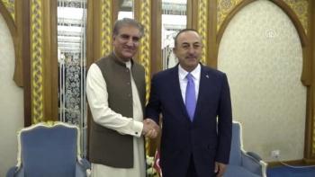وزير خارجية تركيا ونظيره الباكستاني