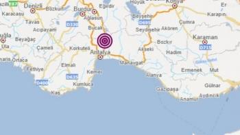 زلزال بأنطاليا