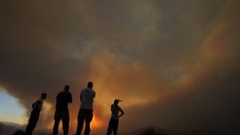 حرائق قبرص