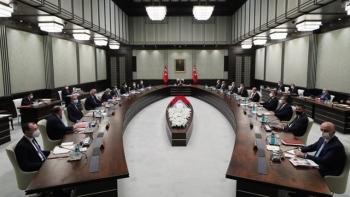 اجتماع مجلس الوزراء التركي