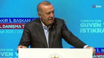 أردوغان باجتماع حزبه