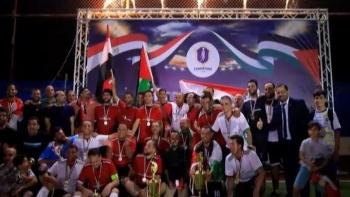 مباراة في حب مصر وفلسطين
