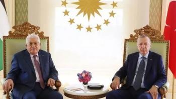 أردوغان ومحمود عباس