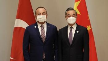 جاويش اوغلو ونظيره الصيني