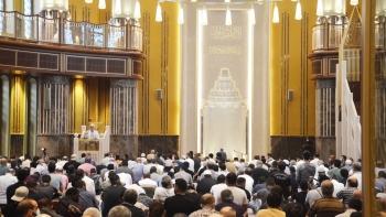 صلاة العيد بجامع تقسيم لأول مرة في تركيا