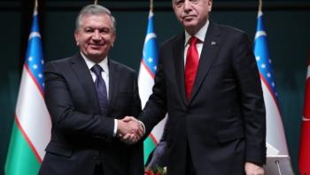 أردوغان ونظيره الأوزبكي ميرزيوييف