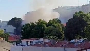 حريق السفارة الروسية باسطنبول