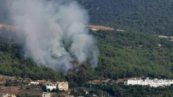 حريق في أنطاليا