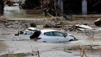 الفيضانات بتركيا