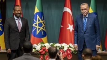 أردوغان وأبي أحمد