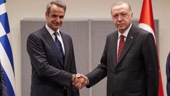 أردوغان ورئيس الوزراء اليوناني