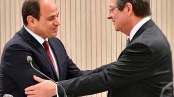 السيسي ورئيس قبرص