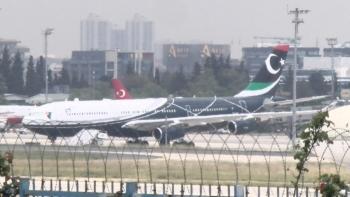 طائرة نجل القذافي