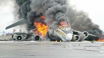 تحطم طائرة- أرشيفية