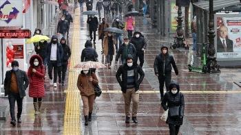 الأمطار في تركيا