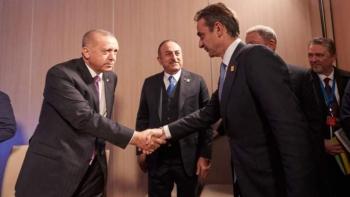 رئيس وزراء اليونان  وأردوغان