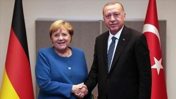 أردوغان وأنجيلا ميركل