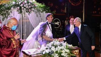 كليتشدار في حفل الزفاف