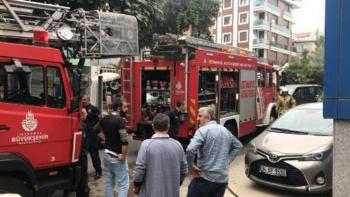 حريق بقبو مستشفى