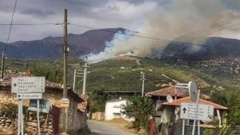 حرائق الغابات التركية