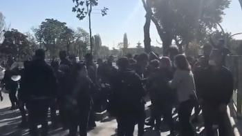 احتجاجات أنقرة