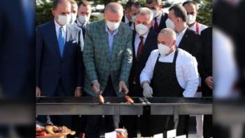 أردوغان والكباب