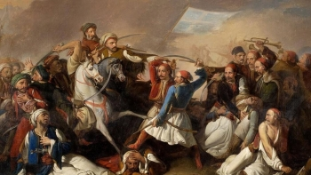 الثورة اليونانية ضد العثمانيين