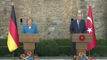 أردوغان وميركل