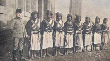 جنود يمنيين في الجيش العثماني
