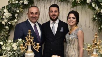 حفل خطوبة ابنة شقيق وزير الخارجية التركي