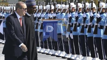 أردوغان والرئيس النيجيري