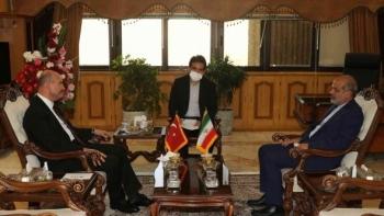 وزير الداخلية التركي ونظيره الإيراني