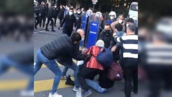 اعتقال الشرطة التركية لطلاب بوغازيتشي