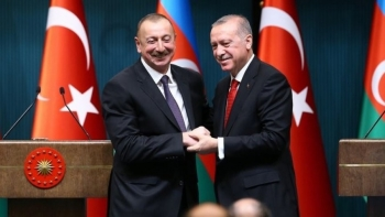 أردوغان وإلهام علييف