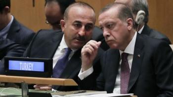 جاويش أوغلو وأردوغان