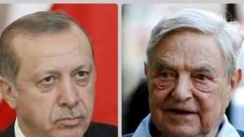 أردوغان وجورج سوروس
