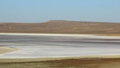 جفاف بحيرة دودين التركية بسبب الاحتباس الحراري