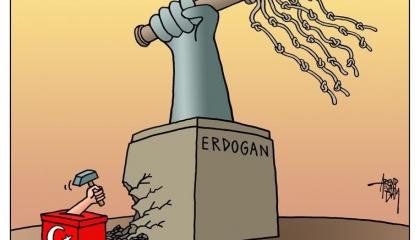 الانتخابات تهزم قبضة أردوغان القمعية